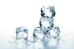 Кубики льда для лечения кисты щитовидной железы
