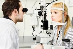 Офтальмоскопия для диагностики кисты Молля