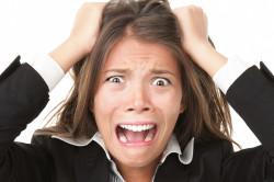 Стрессы - причина кисты щитовидной железы