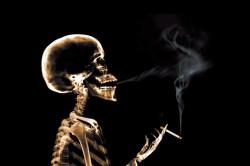 Курение - причина развития кисты слюнной железы