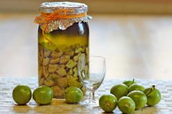 Настойка из грецких орехов для лечения кисты яичника