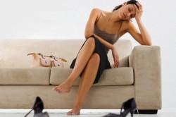 Слабость - симптом кисты яичника