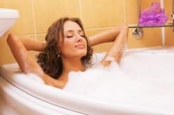 Частые горячие ванны - причина заболевания кисты параовариальной